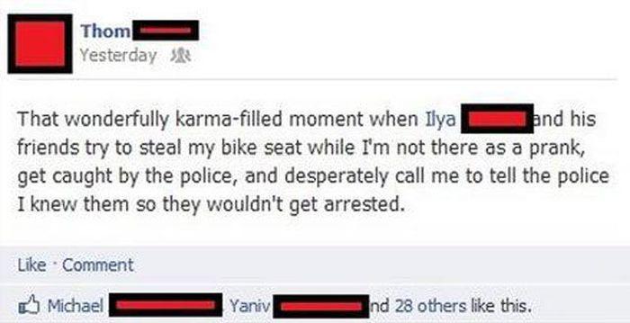 It's Karma