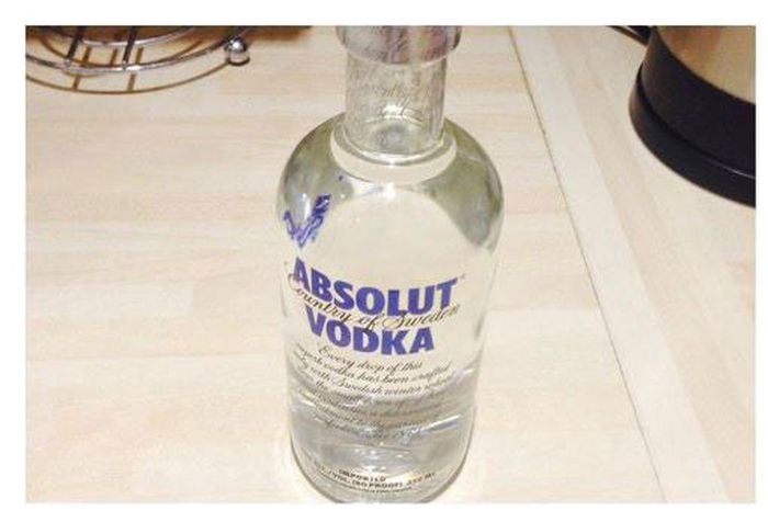 The Perfect Way To Smuggle Vodka
