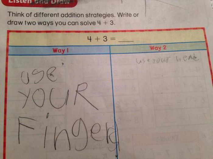 Kids Just Have All The Right Answers When It Comes To Tests