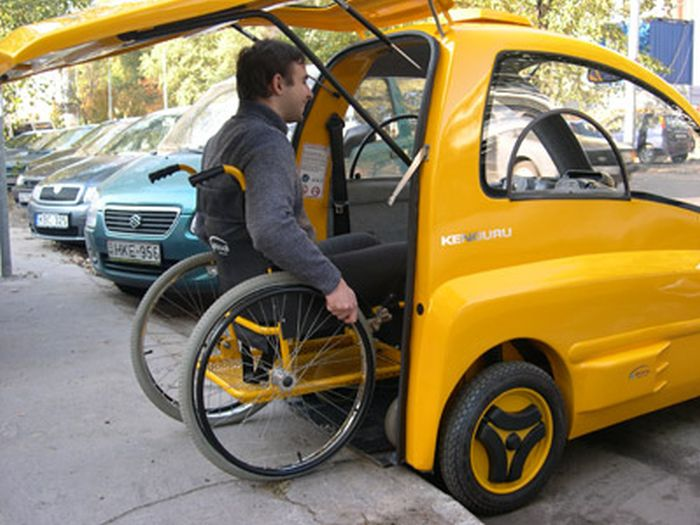 The Kenguru Is The Perfect Car For Someone In A Wheelchair