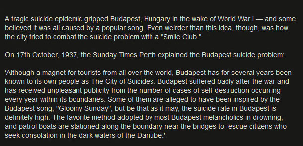 How Budapest Became The City Of Smiles