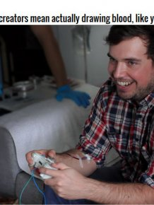 This New Device Turns Video Games Into A Bloodsport