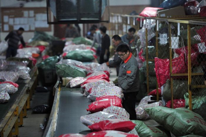 Inside Chinese Postal Service
