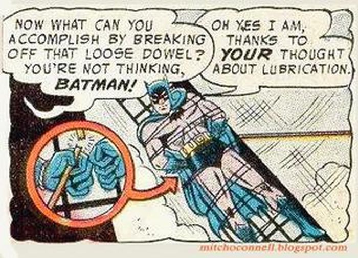 Comic Book Panels Are Much Funnier When Taken Out of Context