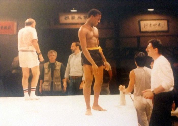 Behind The Scenes Photos From The Movie Bloodsport