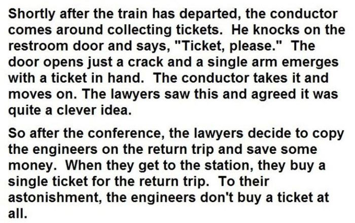 This Is Why Lawyers And Engineers Shouldn't Compete