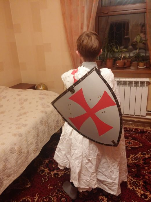 How To Make Your Own Knight Costume Others