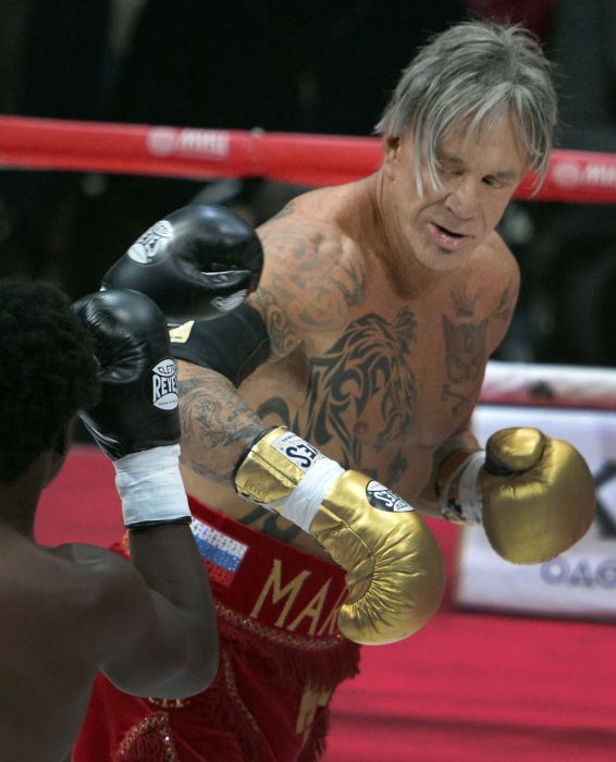 Mickey Rourke Is 62 And He Beat Up A 29 Year Old Boxer