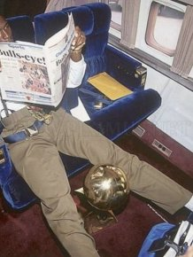 Vintage Michael Jordan