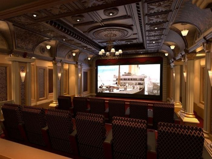 Nice These Home Theaters Are Your Wildest Dreams Come True Idea