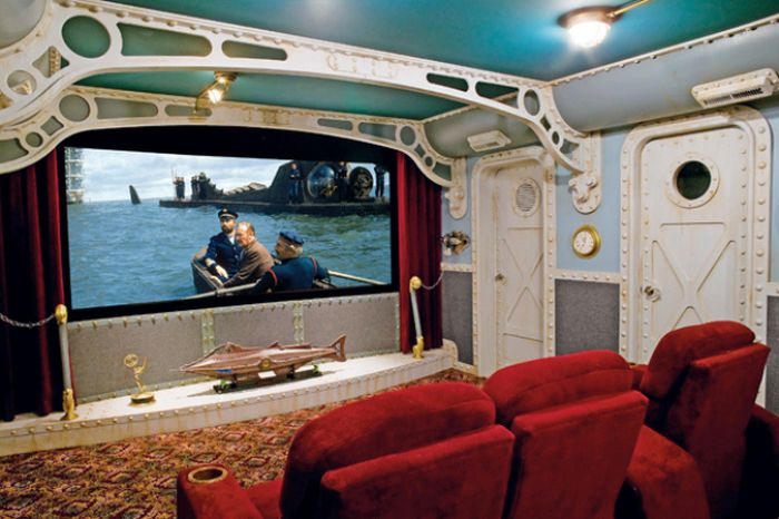 These Home Theaters Are Your Wildest Dreams Come True
