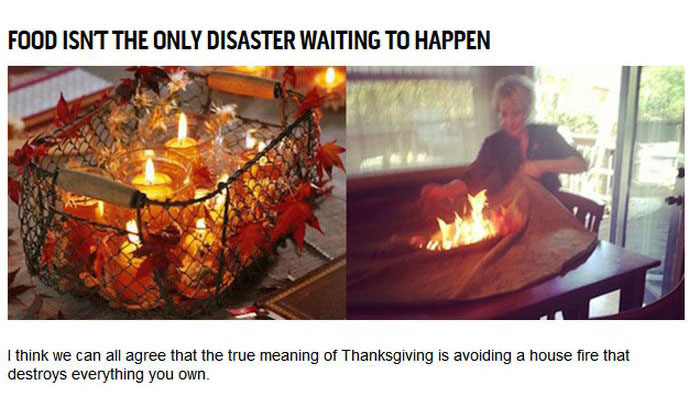 Thanksgiving On Pinterest And In Real Life