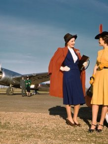 1940s Black And White Photos In Color