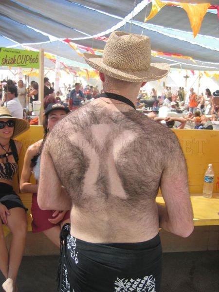 Back Hair Art