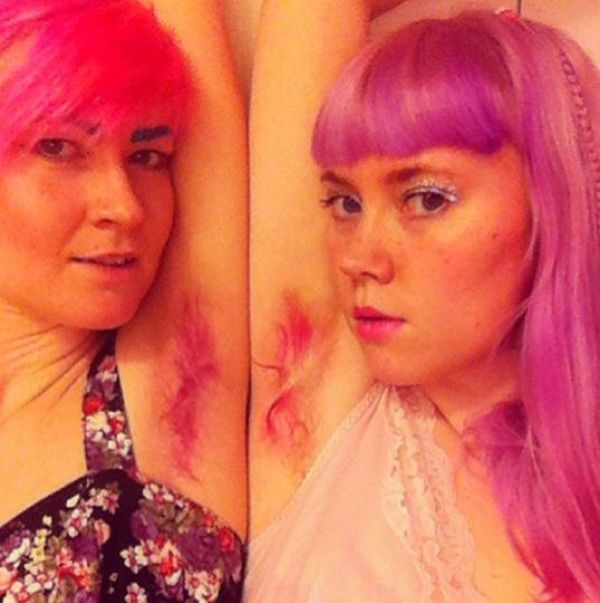 Dying Your Armpit Hair Is Apparently A Thing Now