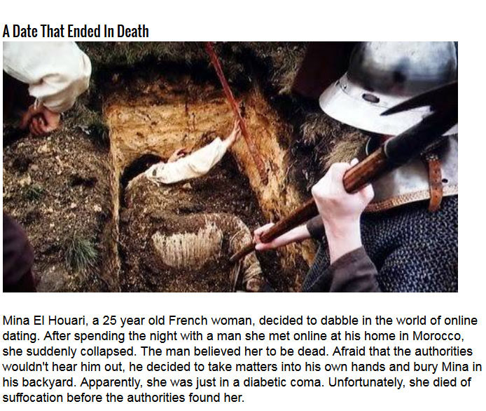 Terrifying Stories Of People That Were Buried Alive