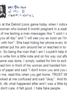 Cheating Girlfriend Gets Busted By A Stranger