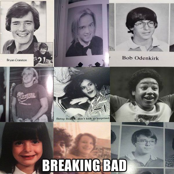 Famous TV Show Casts And Their Embarrassing Yearbook Photos