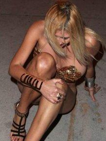 Drunk Busty Girl