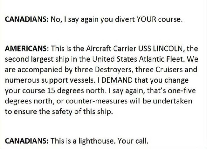 This Is What Happens When A US Naval Ship Bumps Into Canadian Authorities