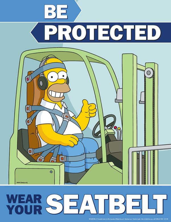 The Simpsons Are Here To Teach You About Work Safety