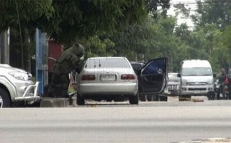 Car Bomb Explosion in Thailand