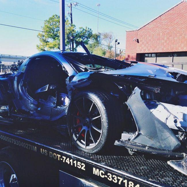 Driver Destroys A $1 Million Dollar McLaren P1
