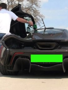 Driver Destroys A $1 Million Dollar McLaren P1