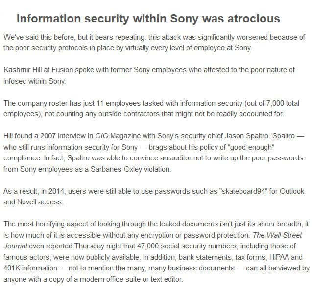 7 Revealing Secrets From The Recent Sony Leak
