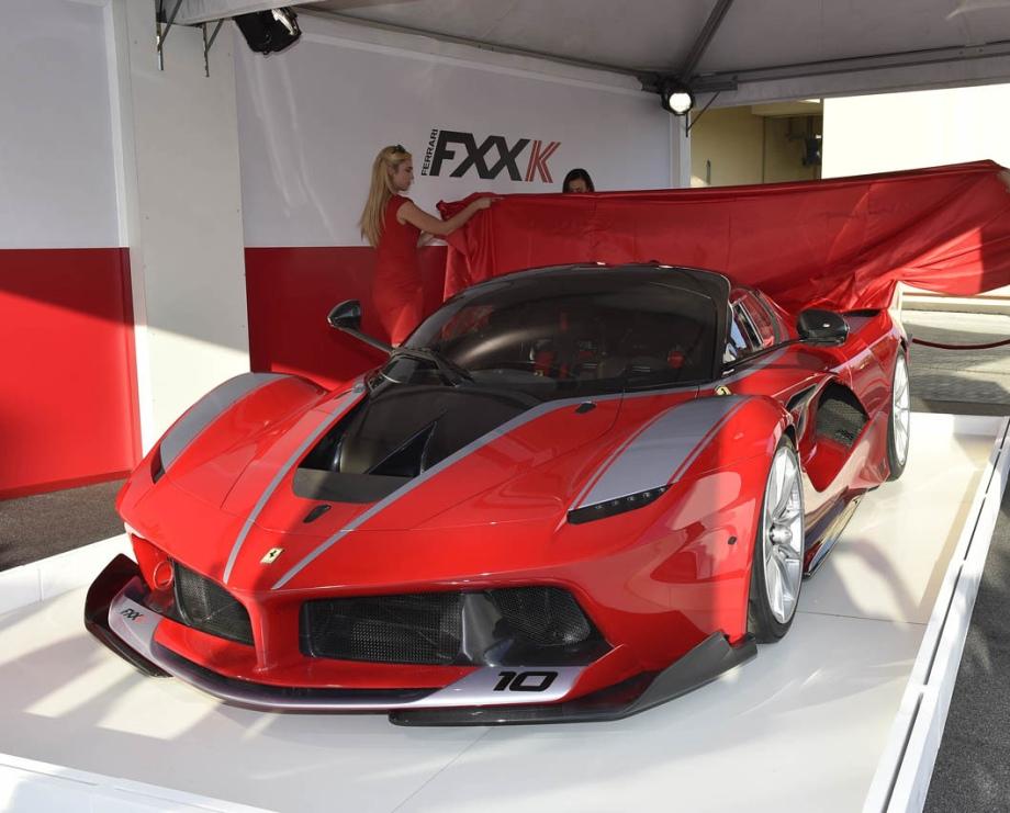 Ferrari FXX K Hybrid 848hp