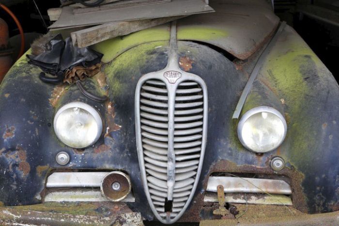 This Place Is A Graveyard For Vintage Cars