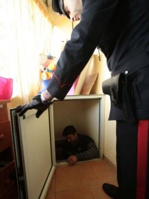 Mafia Godfather's Son Arrested After Police Discover A Fake Tunnel