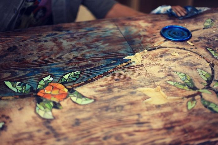 How To Make Your Own Mosaic Table