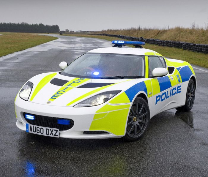 Fastest Police Cars