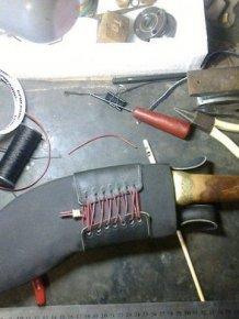 This Is A Beautiful Genuine Homemade Khukuri Knife