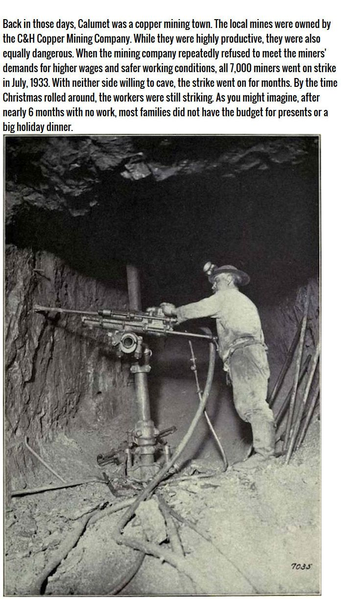 Christmas Eve And The Michigan Mining Tragedy Of 1933, part 1933