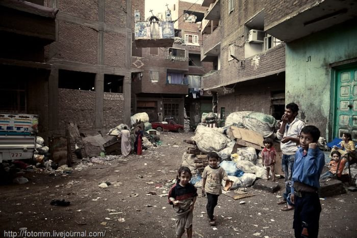 Garbage City of Cairo, part 2