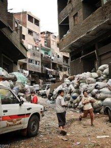 Garbage City of Cairo