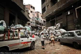 Garbage City of Cairo