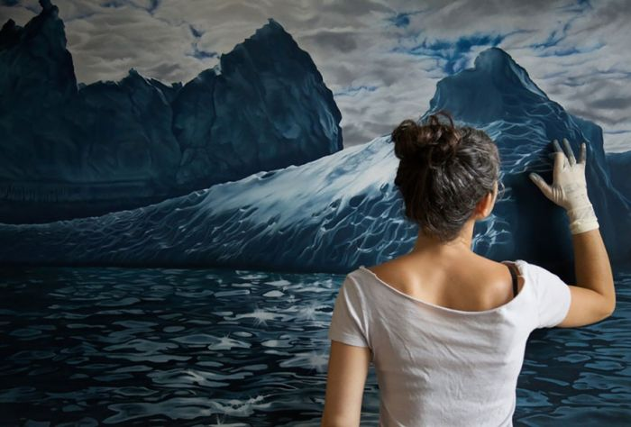 Zaria Forman Is Raising Awareness About Climate Change With Art