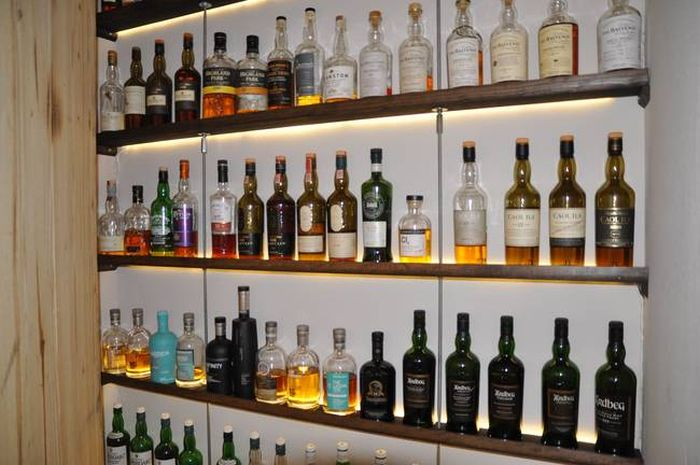 This Guy Definitely Has The Coolest Scotch Collection Ever