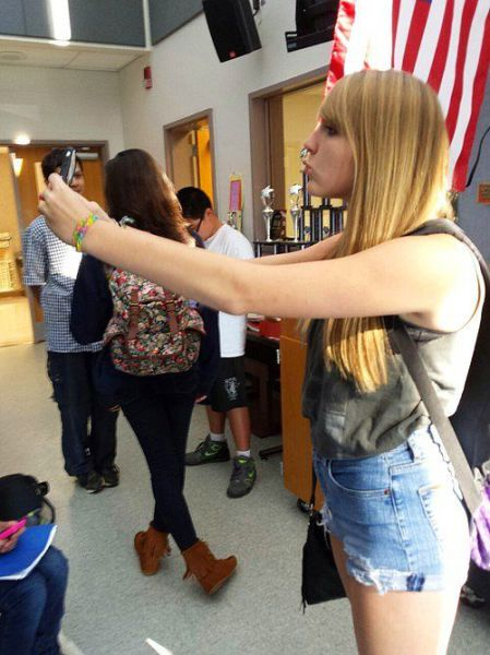 The World Is Truly Obsessed With Selfies