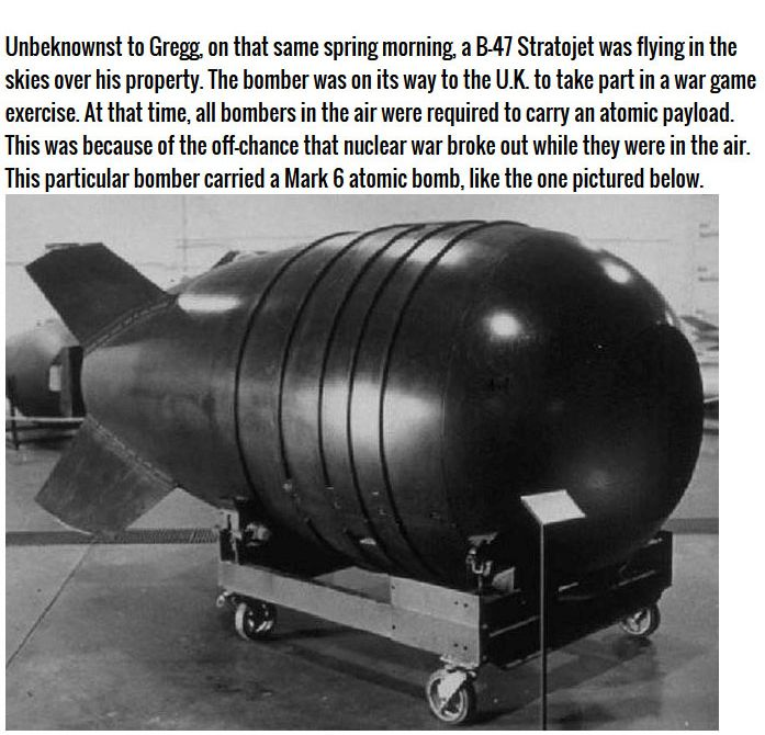 The U.S. Dropped An Atom Bomb On South Carolina In 1958, part 1958