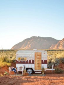 Old Trailer Gets Transformed Into Something Special