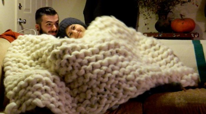 How To Make A Giant Blanket Step By Step
