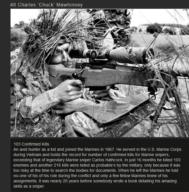 These Are The 10 Deadliest Snipers In History
