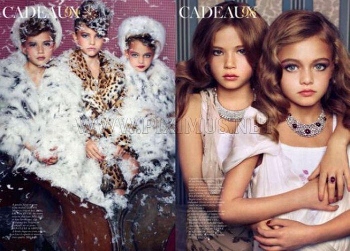 Children Models for Vogue Paris