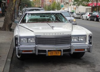The Vintage Cars On The Streets Of New York City
