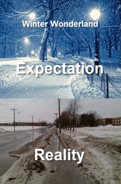 Why Expectations Can Never Match Up To Reality