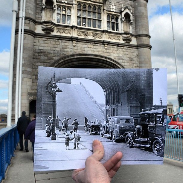Comparing London Then And Now